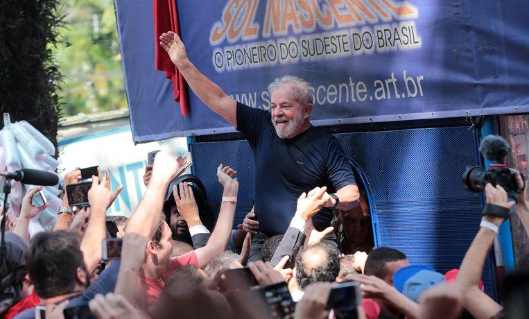 Voormalig Braziliaans president Luiz Inacio Lula da Silva. Beeld REUTERS