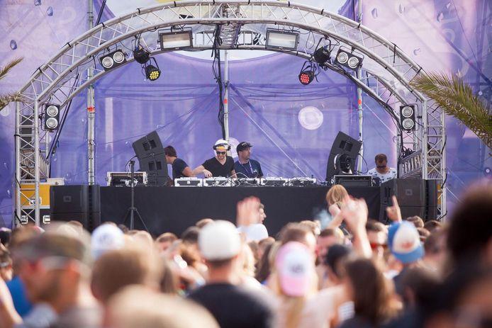 Een eerdere editie van Ostend Beach. Het festival gaat in augustus wel degelijk door.