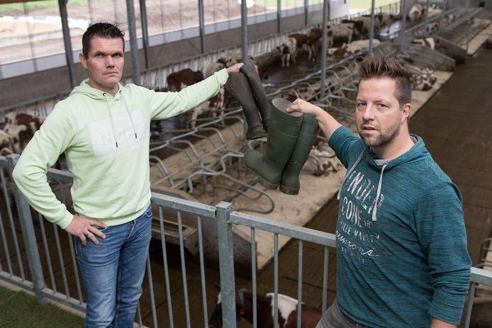 Jawin Klein Hegeman (links) op archiefbeeld uit 2017.