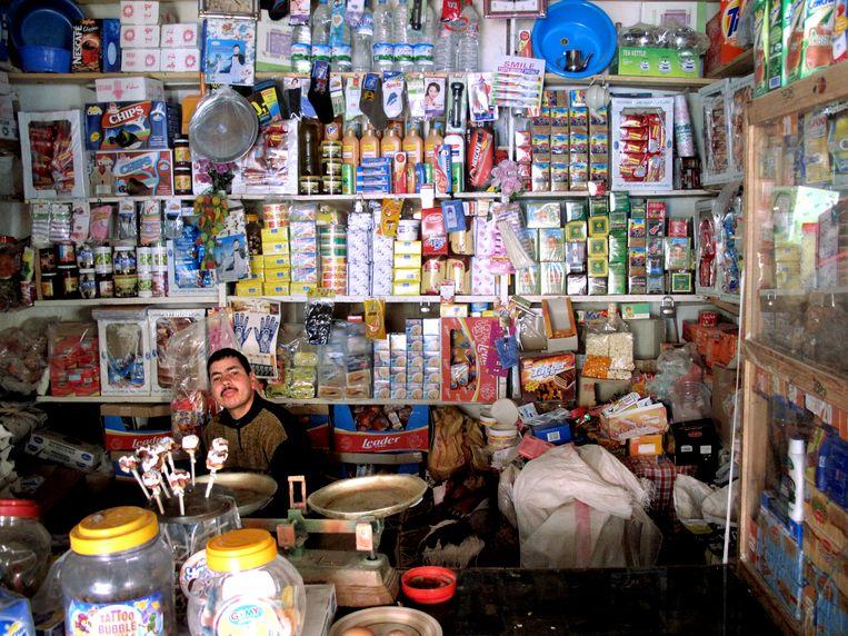 Een winkel in Aït Benhaddou, Marokko. Beeld Najib Nafid