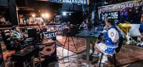 Een talkshow van 70 uur houdt carnavalisten van Leutekum met succes van de straat