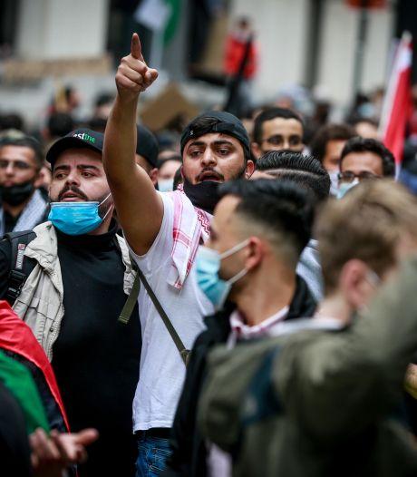 Des centaines de personnes ont manifesté pour la Palestine à Bruxelles