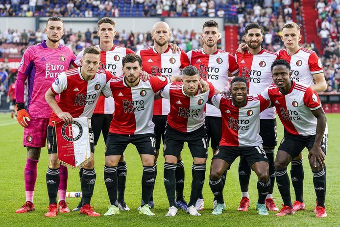 Feyenoord in de voorronde van de Conference League tegen Luzern.