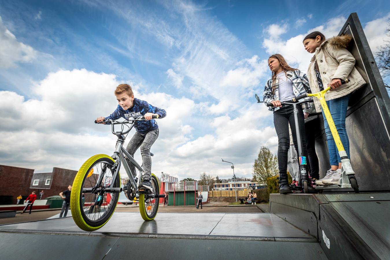 Skatepark Tienerhuis in Helmond bestaat bijna 25 jaar.