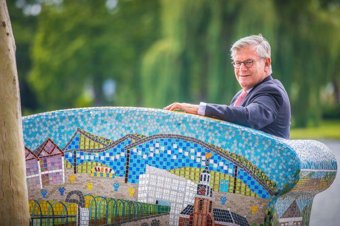 Burgemeester Charlie Aptroot op vakantie/reces.(Zoetermeer 20-07-19) Foto:Frank Jansen
