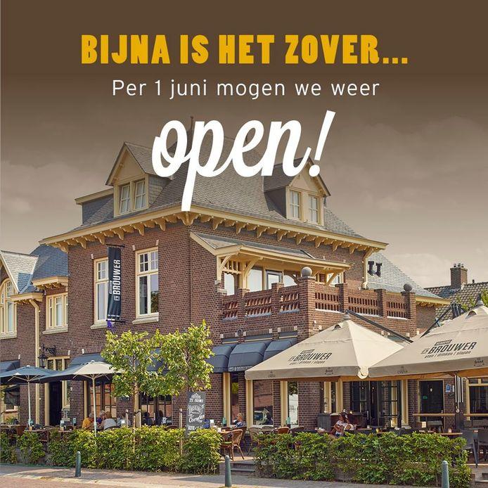 Bij Herberg d'n Brouwer in Zeeland staan ze te popelen om open te gaan.