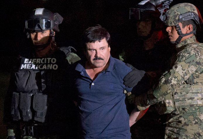 El Chapo na zijn arrestatie