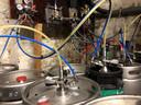 In heel wat café's, zoals hier in Den Aflaat, zijn de biervaten al aangesloten.