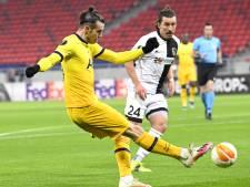 Bale belangrijk voor Spurs, ManUnited ruim langs Real Sociedad