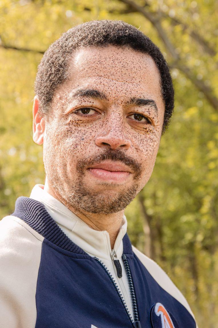 Carlos (46), Rembrandtpark. Beeld Saskia van den Boom