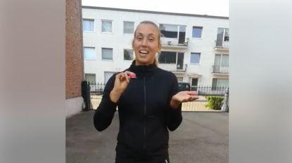 Tennisster Elise Mertens doet Hamont-Achelaar bewegen met dagelijkse video