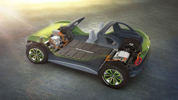 Het MEB-platform dat Volkswagen voor zijn elektrische auto's gebruikt, zoals de VW ID.3 en ID.4