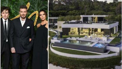 BINNENKIJKEN. De Beckhams huren deze villa van 23.000 euro per maand in Beverly Hills