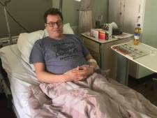 Dordtenaar Richard (51) ligt in het ziekenhuis met corona: 'Merk nu pas hoe waardevol mijn longen zijn'