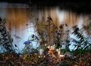 Bloemen en kaarsjes op de plek waar Milan verongelukte.