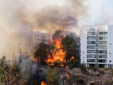 Israël evacueert duizenden mensen vanwege grote natuurbranden
