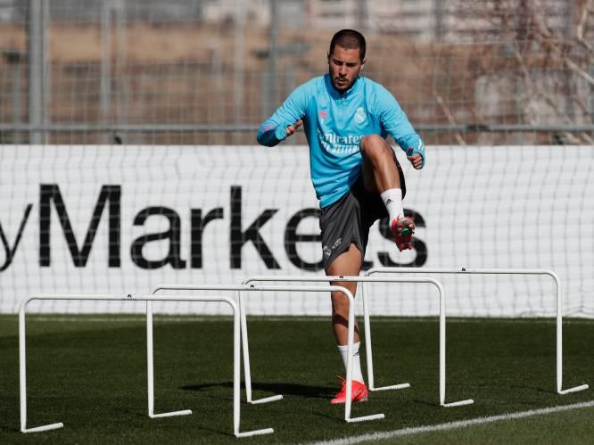 Zidane wil Hazard zaterdag speelminuten geven en ontkent gerucht als zou Ronaldo terugkeren