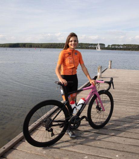 Rosita Reijnhout, verrassing van EK wielrennen, geniet nog even van haar vrijheid