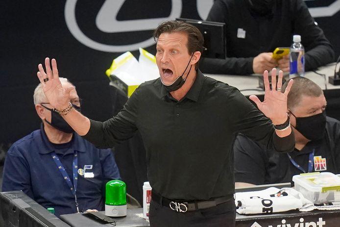 Utah Jazz-coach Quin Snyder