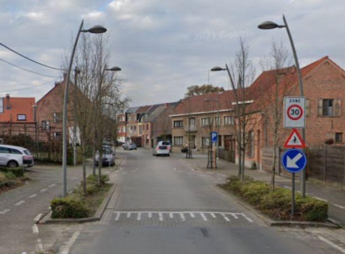 Zone 30 in Liezele.