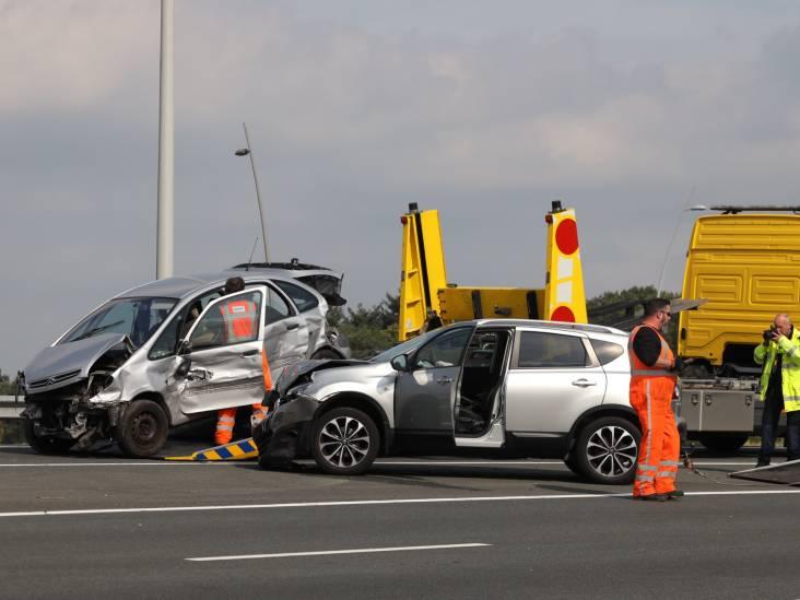 Twee auto's betrokken bij ongeluk op A2 bij knooppunt Batadorp