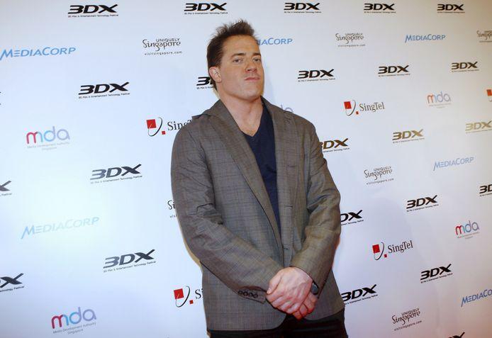 Brendan Fraser in 2008