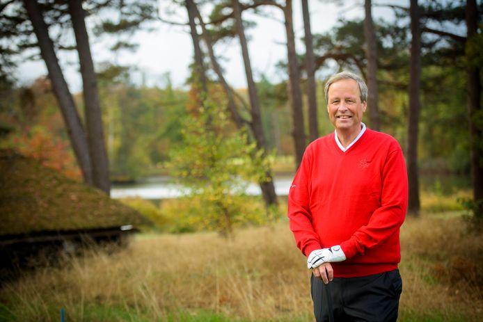 Guido Dierick is als voorzitter van de Eindhovensche Golf in Valkenswaard vaak op het golfterrein te vinden.