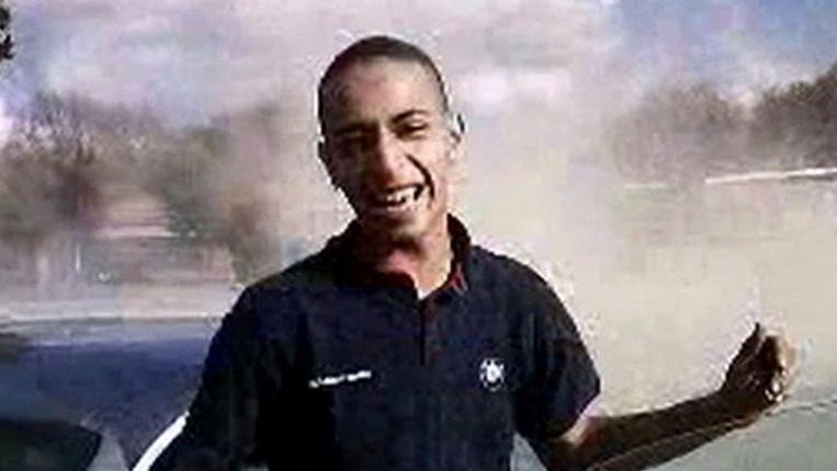 Mohamed Merah voor de drie aanslagen die het leven kostten aan 7 slachtoffers, van wie drie kinderen. Beeld AP