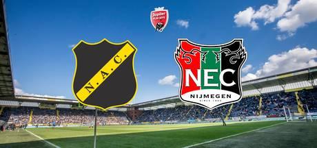 LIVE: NAC klaar voor finale tegen NEC