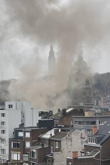 Deux blessés graves et cinq légers dans une explosion à Liège, la piste de l'accident domestique privilégiée