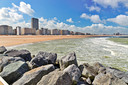 Flaneren langs de kust in Oostende.