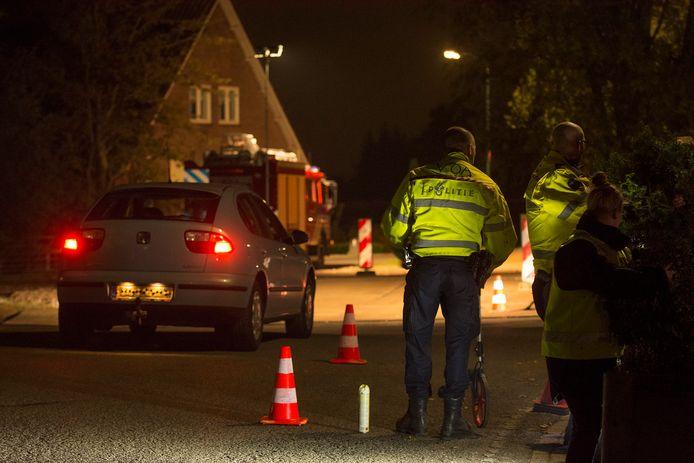 In oktober 2016 reconstrueerde de politie het ongeval op de Lopikerweg West.