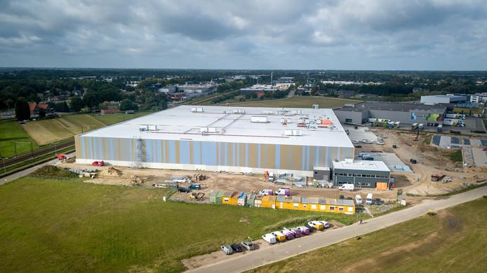 De ontwikkeling van bedrijventerrein Bijsterhuizen.