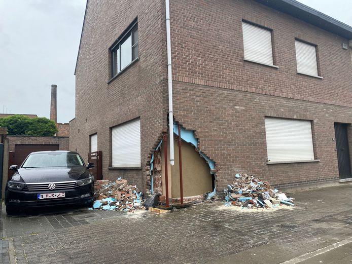 PUTTE - De schade aan de woning langs de Lierbaan is bijzonder groot.
