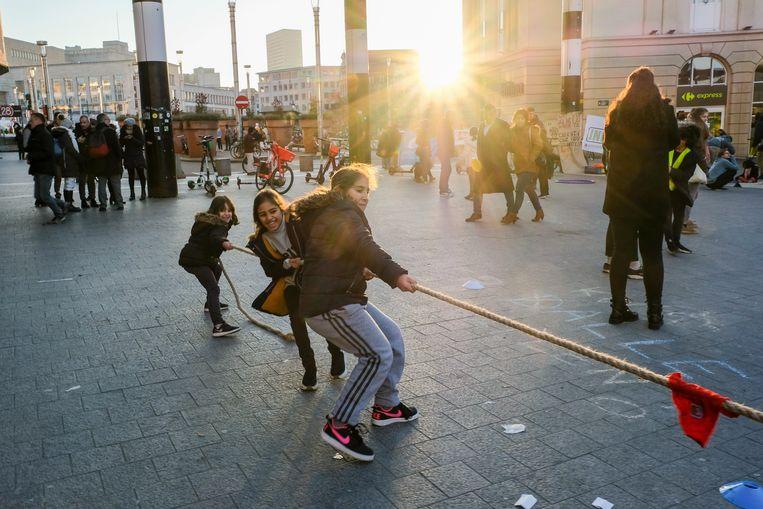 buitenspeeldag voor jeugdbewegingen als protest tegen besparingen