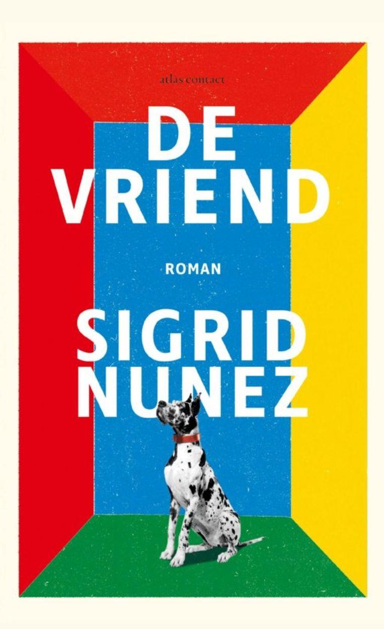 Sigrid Nunez, 'De vriend', Atlas/Contact, 224 p., 22,99 euro. Vertaald door Maaike Bijnsdorp en Lucie Schaap. Beeld rv