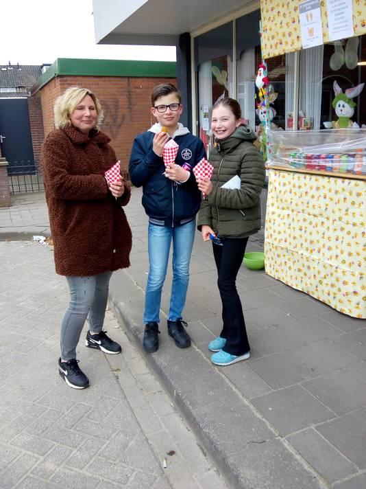 Een snack van De Bierelier gaat er wel in bij de familie Van Kleef uit Waalwijk.