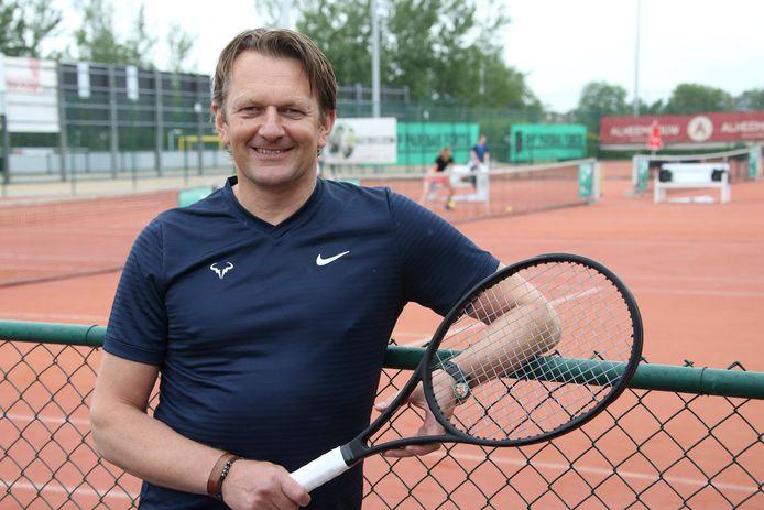Dubbelspecialist Giovanni Nowé geniet opnieuw volop van de toernooisfeer