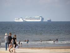 Vaar mee: Zo zien de cruiseschepen voor Haagse kust er van dichtbij uit