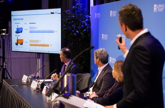 TNO presenteert de onderzoeksresultaten naar de veiligheid van de Stint