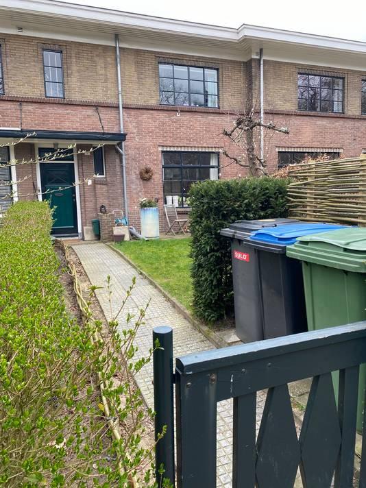 Deze woning aan de Sickeszlaan is het adres waar Hepburn in 1940 een aantal maanden verbleef.