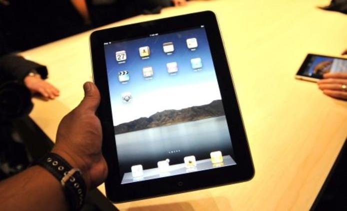 De iPad van Apple. ANP