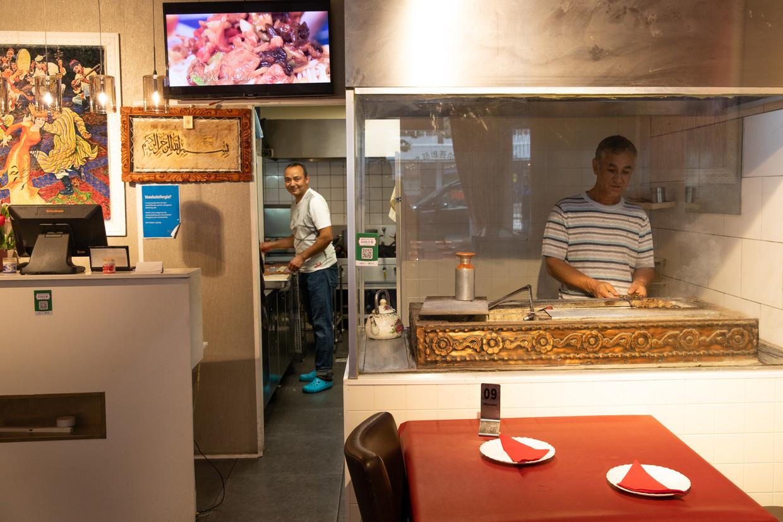 Silk Road Kebab House. Beeld Lin Woldendorp
