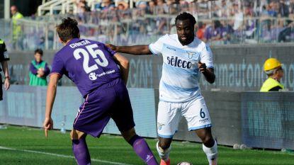 Lazio verliest op bezoek bij Fiorentina, Jordan Lukaku geblesseerd naar de kant