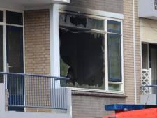Brand in woning in Gouda, extra blusvoertuigen onderweg