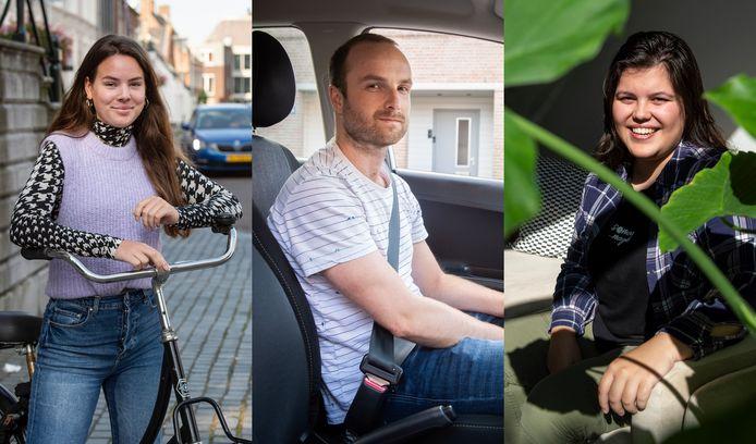 Anouk Rovers, Hans van Horen en Nikki Pommer vertellen hoe zij denken over de klimaatproblematiek.
