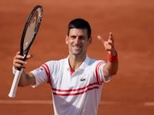 Novak Djokovic sans trembler au troisième tour