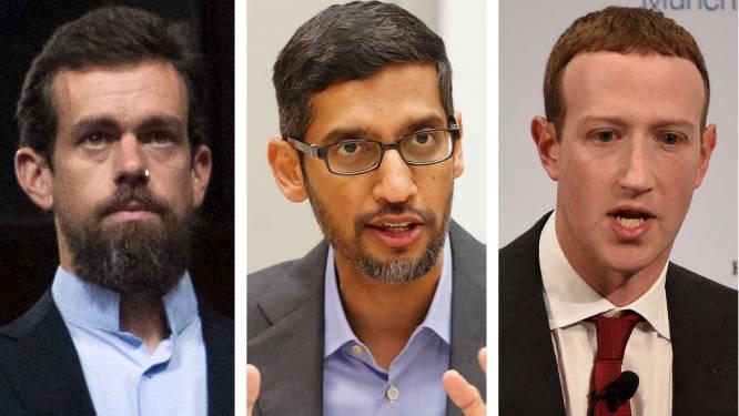 Congres VS gaat topmannen techbedrijven horen over desinformatie