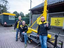 Holtense motor- en autoclub heeft nieuwe, maar cruciale afdeling: 'Als een crosser over de kop vliegt, komen wij in actie'