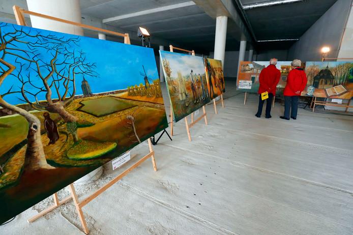 Schilderwerk in Nuenen.